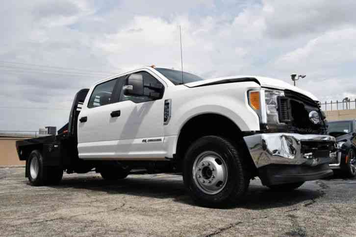 Ford F 350 Flat Bed 2017 Commercial Pickups