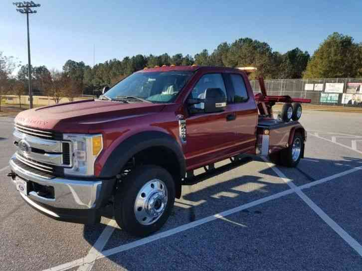 Ford F-450 Ext Cab (2017)