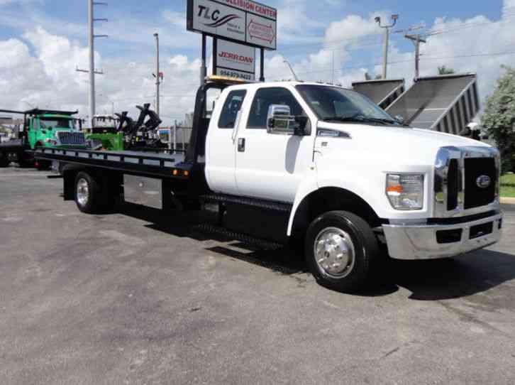 Ford F650 21. 5FT CHEVRON ROLLBACK TOW TRUCK. . (LCG ...