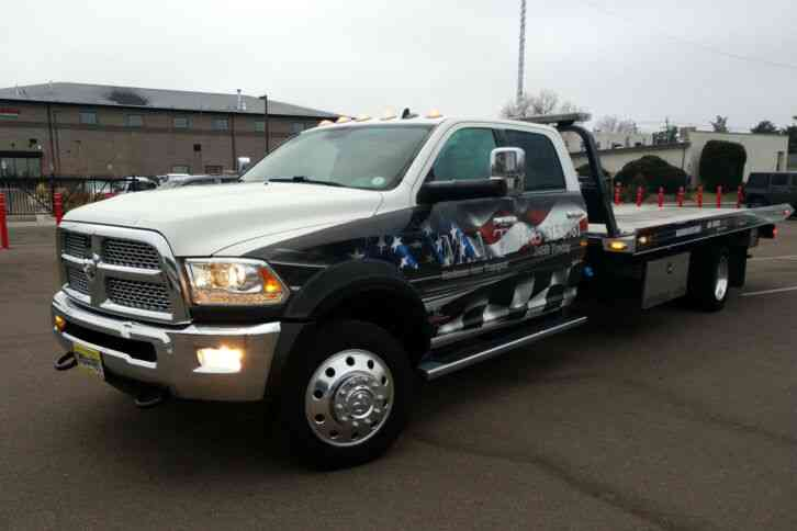Dodge Ram 5500 Flatbed Tow Truck 2017 Flatbeds Rollbacks