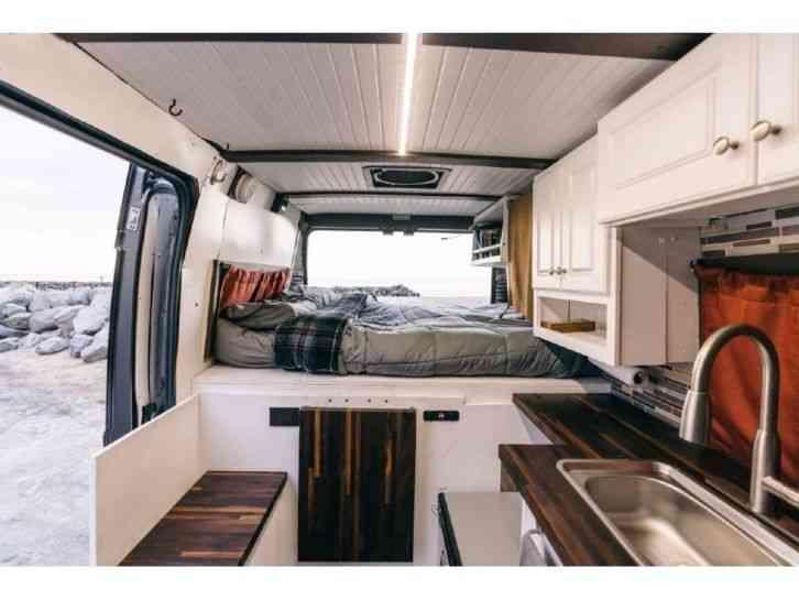 National Tire And Wheel >> Ram Promaster 1500 - Camper Van (2017) : Van / Box Trucks