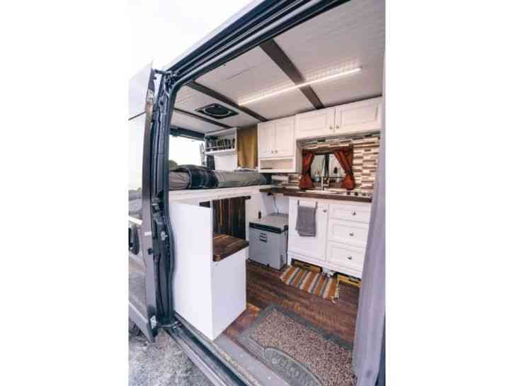 Ram Promaster 1500 Camper Van 2017 Van Box Trucks