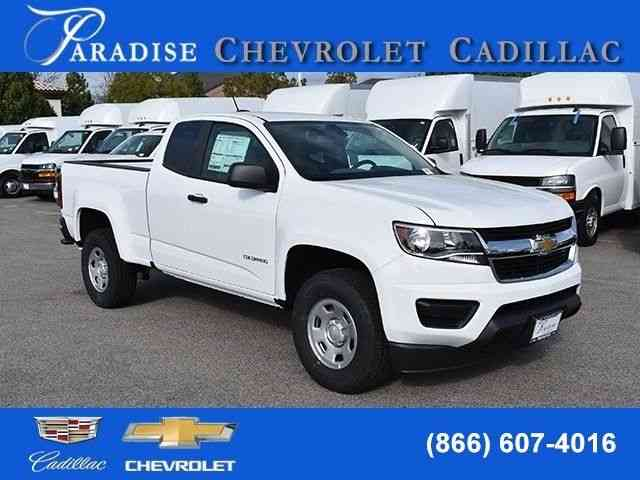Chevrolet Colorado Work Truck (2018)