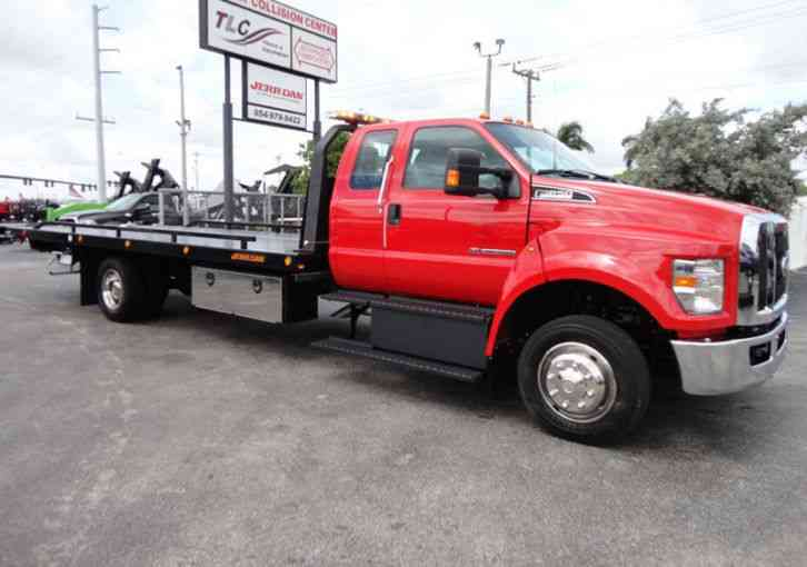 Ford F650 22FT JERRDAN ROLLBACK. TOW TRUCK. SUPER CAB 22FT XL (2018)