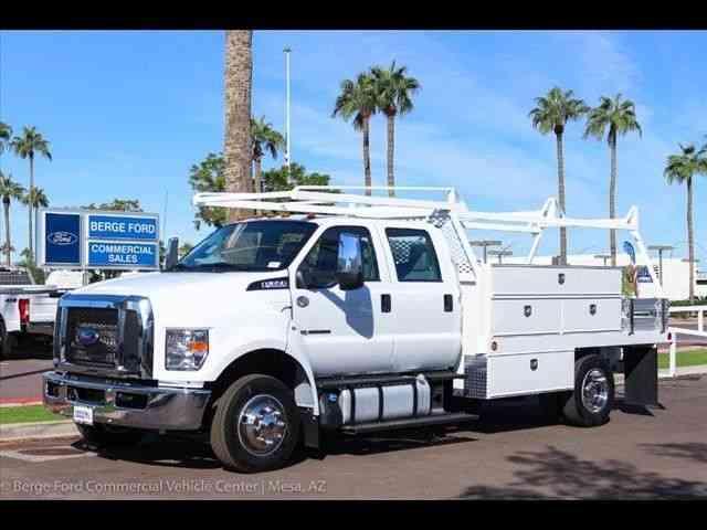 ford f  service trucks