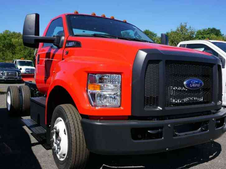 Ford F-650 F-650 SD Gas Pro Loader (2019)