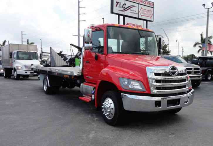 HINO 258ALP 260HP 22FT XLP LCG JERRDAN ROLL-BACK. AIR BRAKE. AIR (2019)
