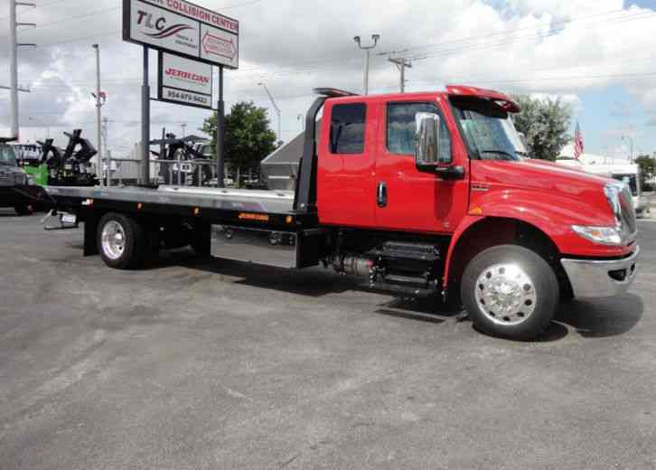 International 4300 22FT JERRDAN ROLLBACK TOW TRUCK. . SHARK 22SRRD6T-W- (2019)