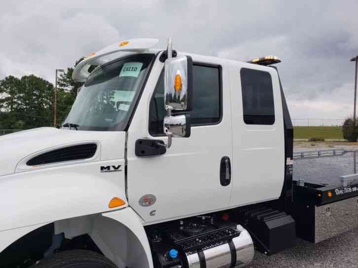 International Mv Extra Cab 2019 Flatbeds Amp Rollbacks