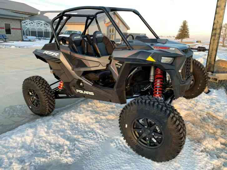 Polaris RZR XP Turbo S Velocity -- (2019) : Utility / Service Trucks