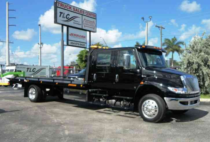 International MV607 22FT JERRDAN ROLLBACK TOW TRUCK. . 22SRR6T-W-LP. . CRE (2020)