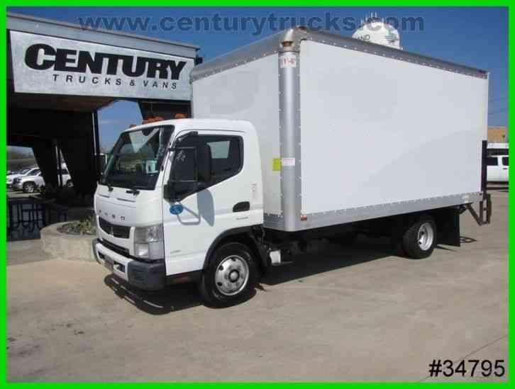 Mitsubishi Motors Fuso Box Truck 2012 Van Box Trucks