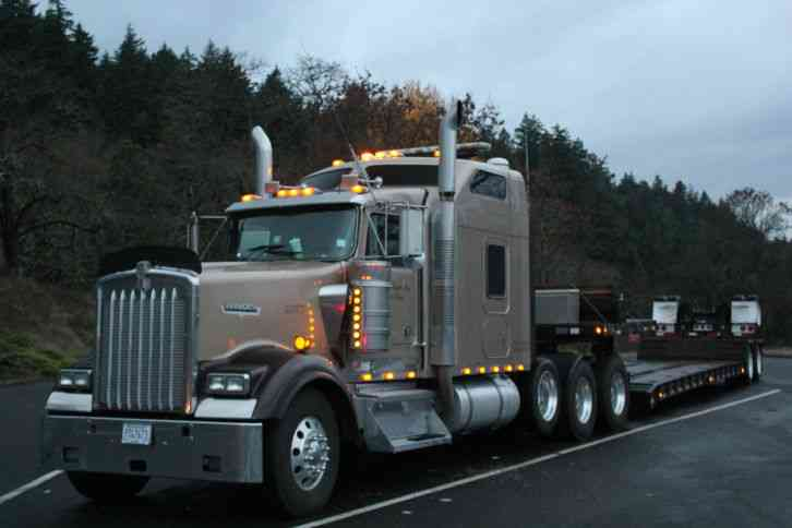 Heavy Truck Axles : Kenworth w l heavy duty trucks