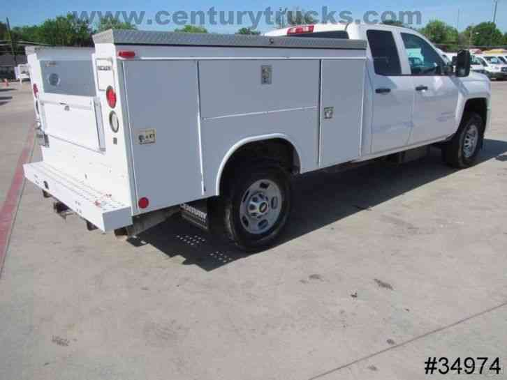 Trucks For Sale In East Texas >> CHEVROLET 2500 4X4 DOUBLE CAB SERVICE TRUCK (2015) : Utility / Service Trucks