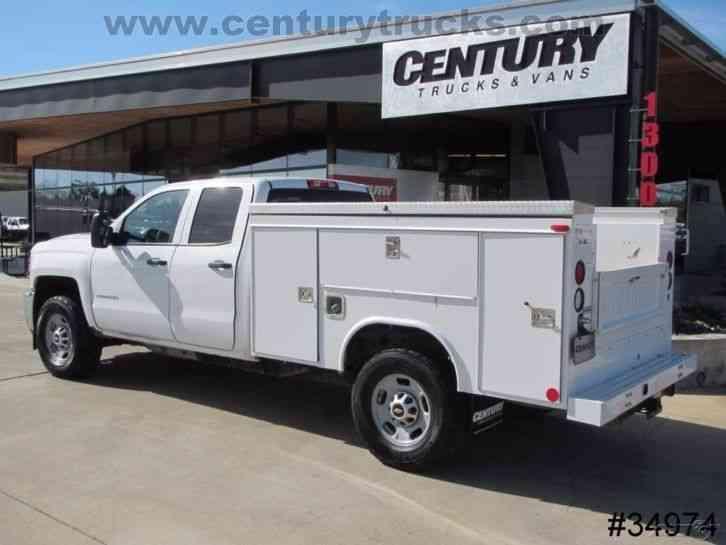Chevrolet 2500 4x4 Double Cab Service Truck 2015