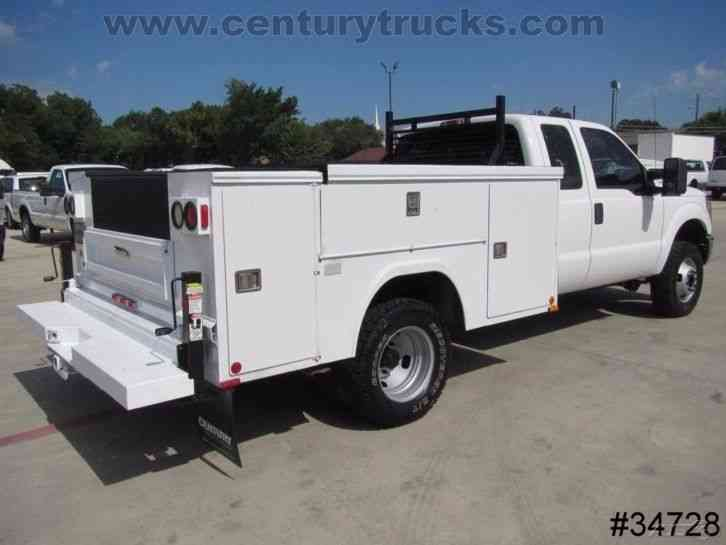 ford f350 4x4 drw 2011 utility service trucks. Black Bedroom Furniture Sets. Home Design Ideas