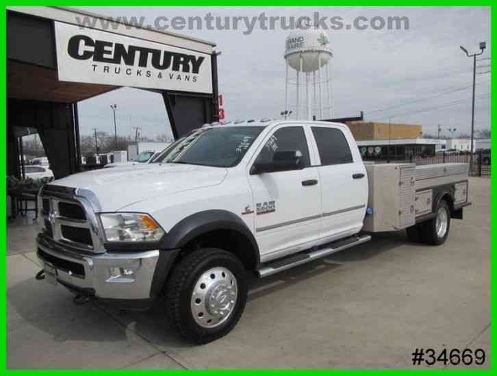Dodge RAM 5500 4X4 CREW CAB FLAT BED (2014)