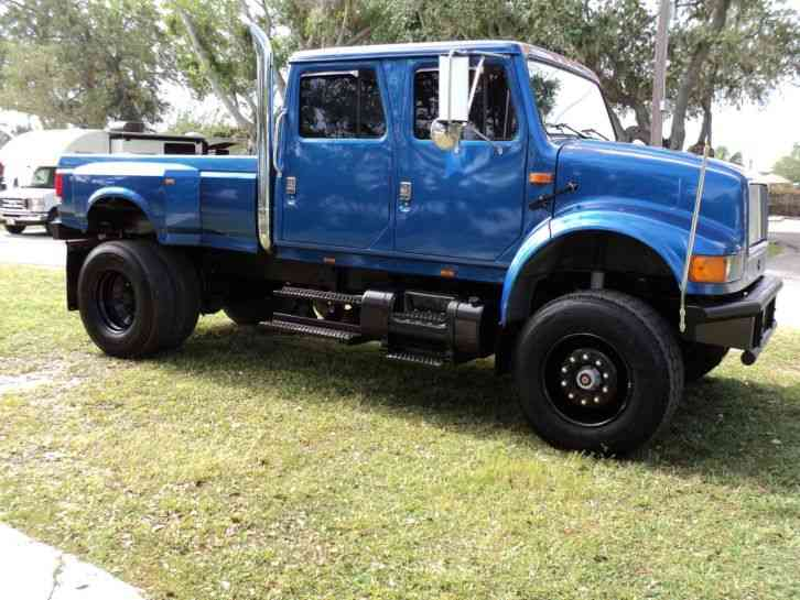 International 7400 CXT 4X4 (2006) : Commercial Pickups