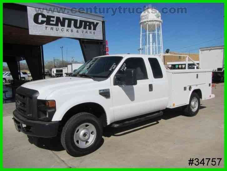 Ford F250 4X4 SUPERCAB SERVICE TRUCK (2009)