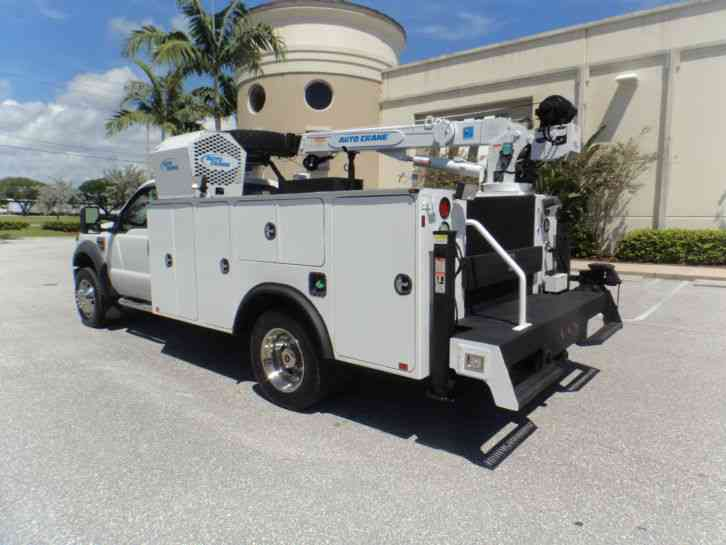ford f 550 2008 utility service trucks. Black Bedroom Furniture Sets. Home Design Ideas