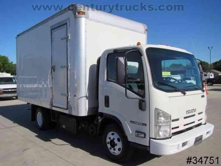Isuzu Trucks Npr 2011 Van Box Trucks