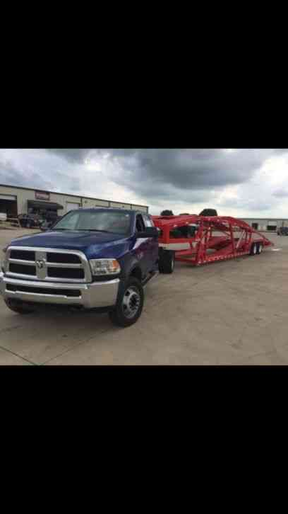 Dodge Ram And Infinity Trailer Ram5500 And Infinity Gn500