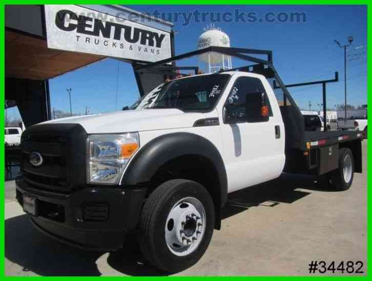 Ford F550 REGULAR CAB FLAT BED (2011)
