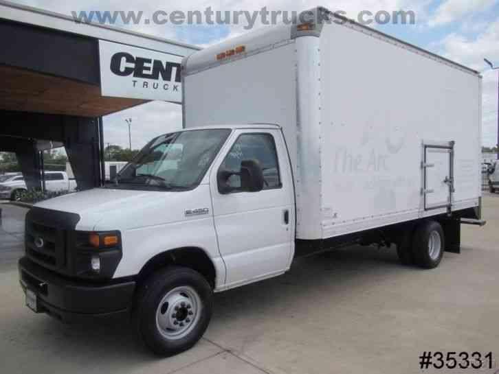 Ford E450 2012 Van Box Trucks