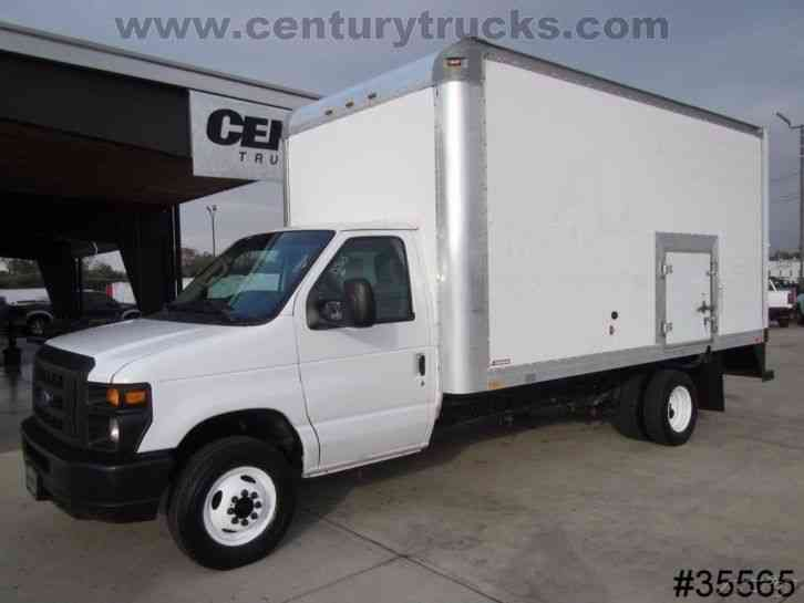 Ford E450 2011 Van Box Trucks