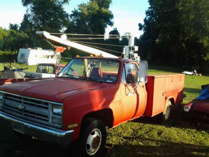 Pulling Trucks For Sale >> Chevrolet (1986) : Utility / Service Trucks