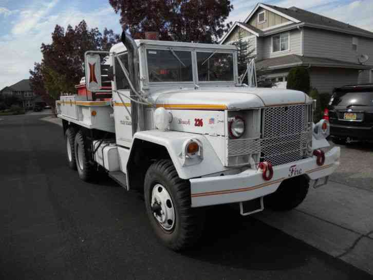 Kaiser 2. 5 ton 6x6 Turbo Diesel Wildland Engine (1990)