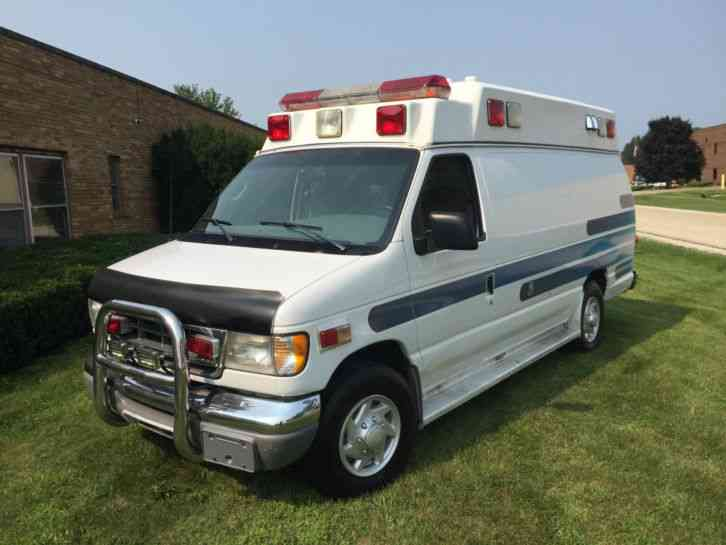 2001 Ford E350 Ambulance For Sale
