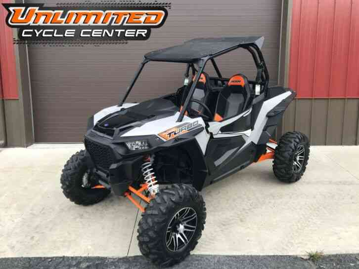 Polaris RZR XP Turbo EPS -- (2018)