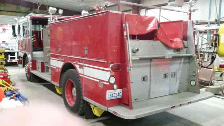 Seagrave Hb50dd  1985    Emergency  U0026 Fire Trucks