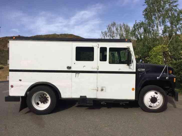 ford f700  1991  van   box trucks 1997 Ford F700 1990 Ford F700 Truck