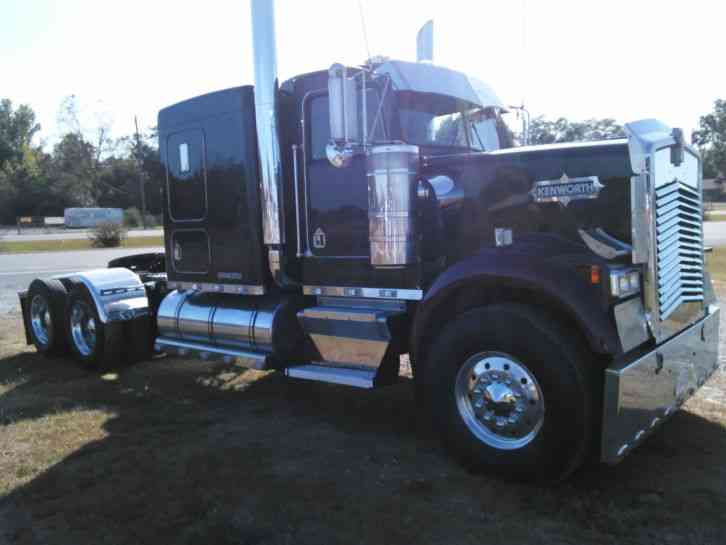 Kenworth W900b 1992 Sleeper Semi Trucks