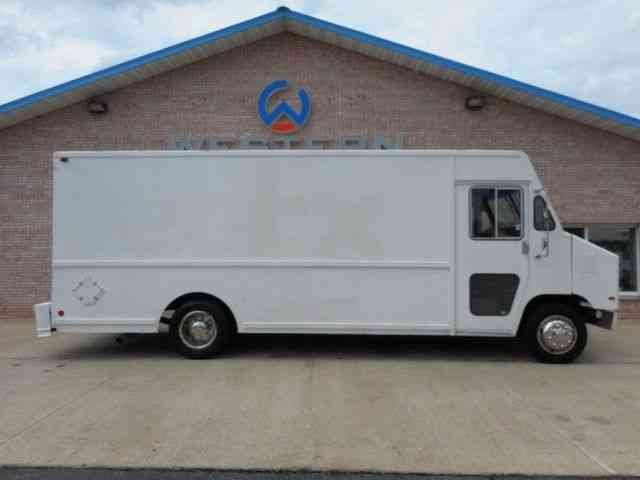 international step van  1995    van    box trucks