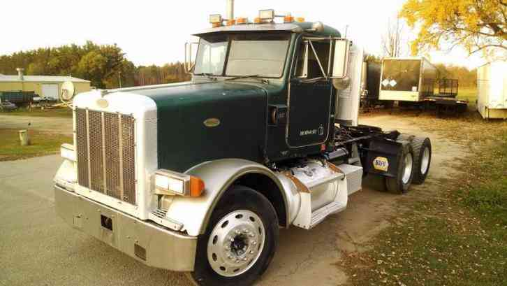 Peterbilt 378 1998 Daycab Semi Trucks