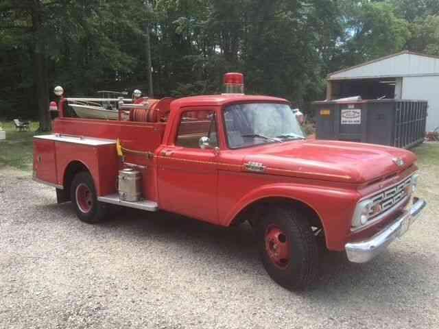 Used Trucks For Sale In Iowa >> Ford F350 mini pumper (1964) : Emergency & Fire Trucks