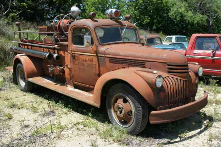 Antique Wartime 1944 Chevrolet 46120