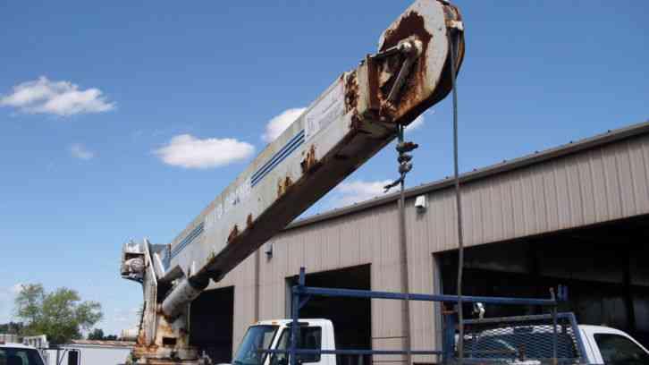 Crane Truck For Sale >> Auto Crane 6006H (1999) : Utility / Service Trucks