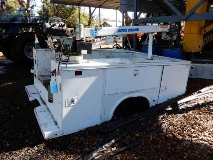 000 Autocrane Utility Service Trucks