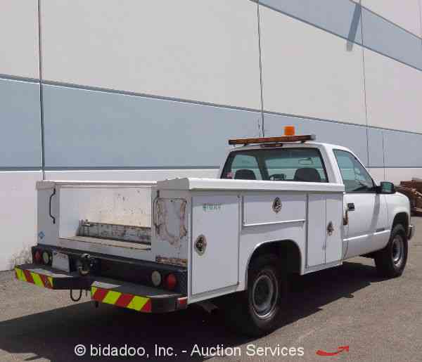 Utility Truck Beds For Sale >> Chevrolet 2500 (2000) : Utility / Service Trucks