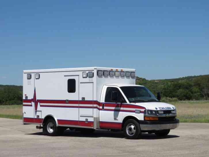 Chevrolet 4500 Aev Trauma Hawk Type Iii Ambulance 2012