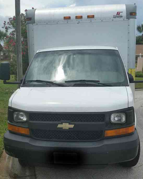 Chevy Box Truck Specs Chevrolet EXPRESS 3500 BOX TRUCK STRAIGHT ...