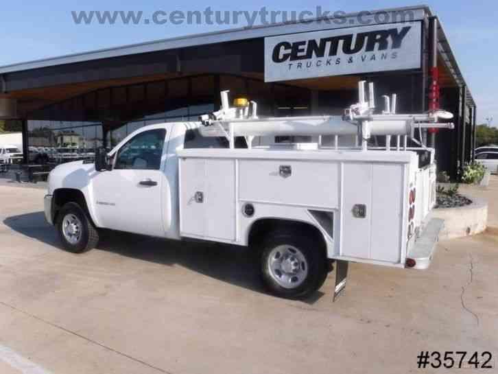 Service Body Locks : Chevrolet utility service trucks