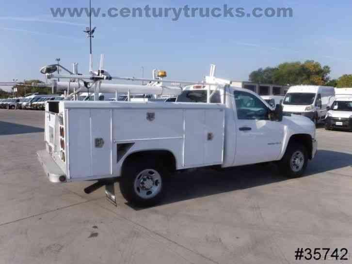 Chevrolet 2500 2008 Utility Service Trucks