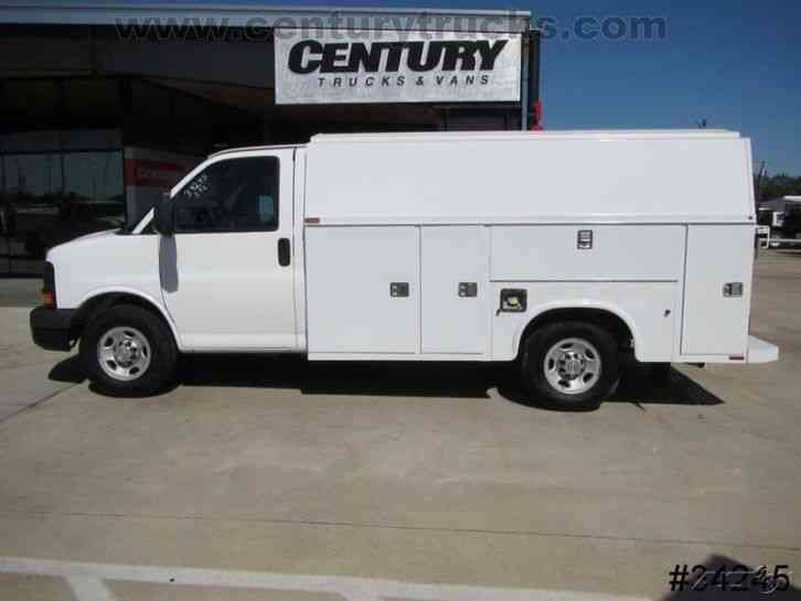 Trucks For Sale In East Texas >> Chevrolet 3500 SRW EXPRESS KUV UTILITY VAN (2012) : Utility / Service Trucks