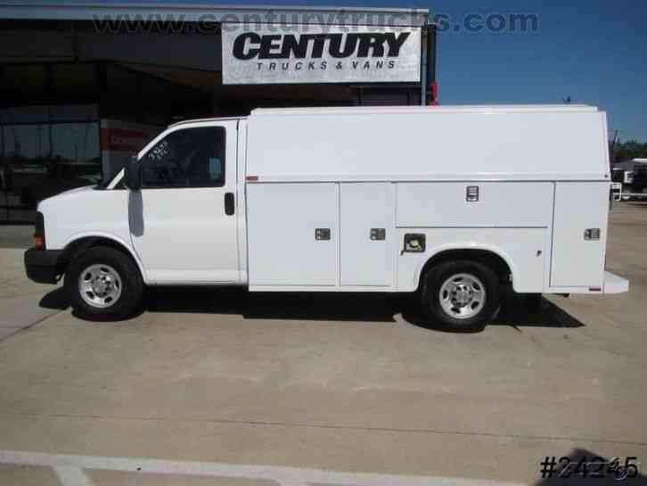 Trucks For Sale In East Texas >> Chevrolet 3500 SRW EXPRESS KUV UTILITY VAN (2012) : Utility / Service Trucks