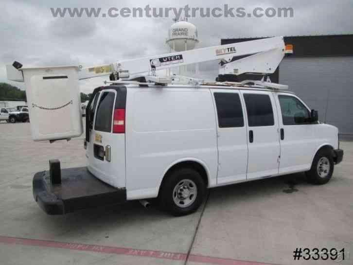 Trucks For Sale In East Texas >> Chevrolet 3500 SRW EXPRESS BUCKET VAN (2007) : Bucket / Boom Trucks